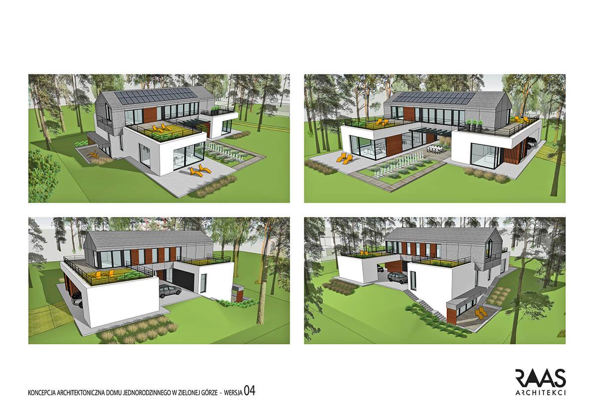 koordynacja i projekt - dom jednorodzinny