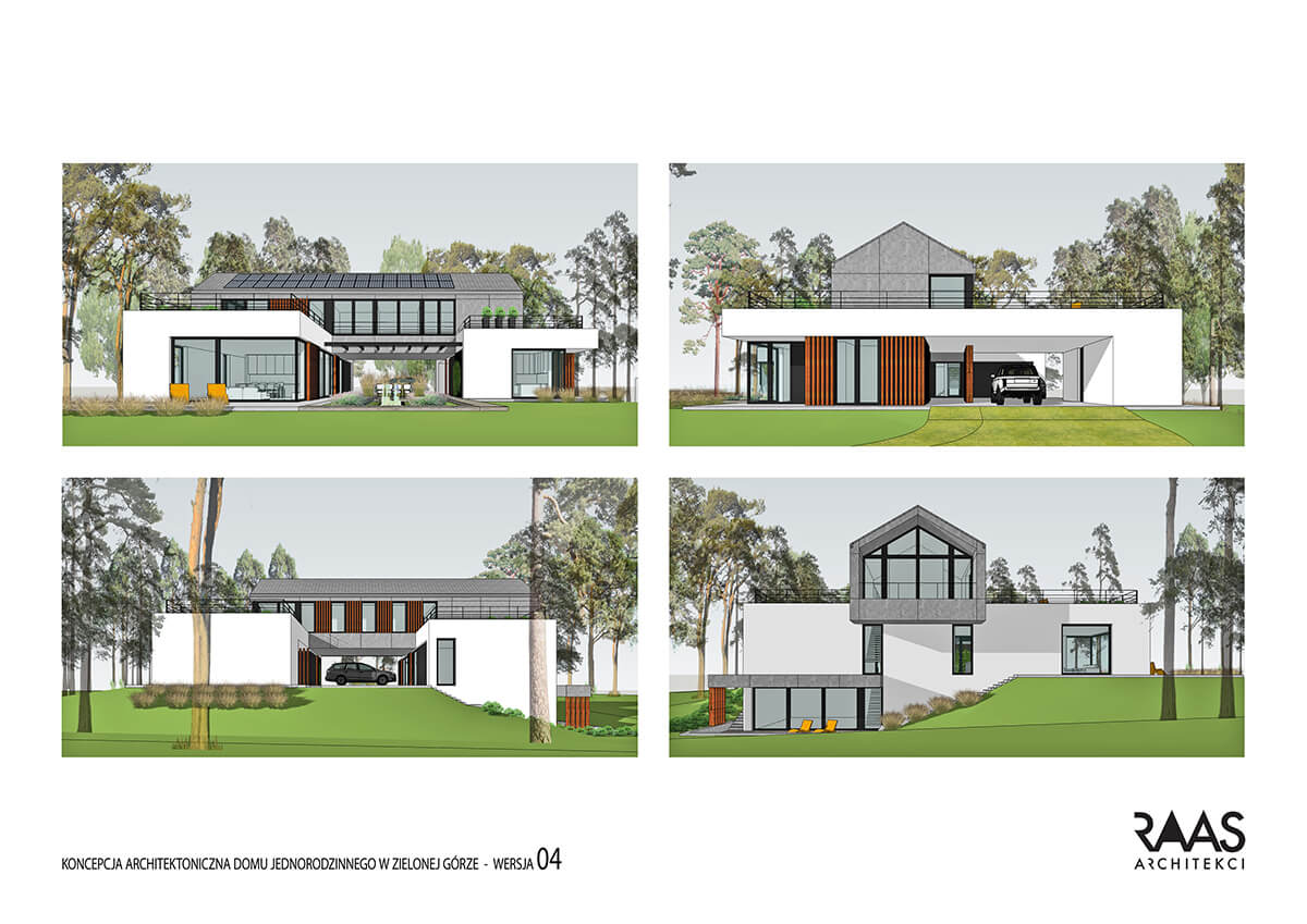 projekt domu jednorodzinengo